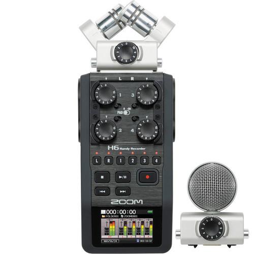 ZH6 портативный цифровой диктофон Zoom H6