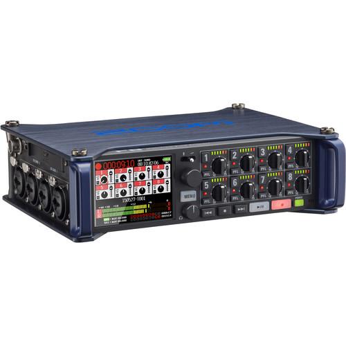 ZF8 Портативный 10-трековый рекордер со встроенным микшером Zoom F8