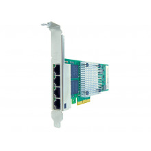 00AG520-AX Сетевая карта Axiom 10/100/1000Mbs Quad Port RJ45 PCIe x4 NIC Card for Lenovo - 00AG520