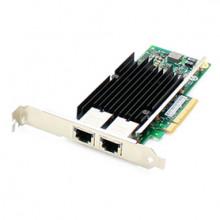 0C19497-AO Сетевая карта ADDON (Lenovo 0C19497 Совместимый) 10Gbs Dual Open RJ-45 Port 100m PCIe x8