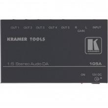 105A Усилитель-распределитель 1:5 стерео аудио Kramer CVG-105A Distribution Amplifier, 1x5, Stereo Audio, Mini Series
