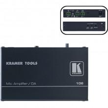 106 Микрофонный усилитель-распределитель 1:2 Kramer