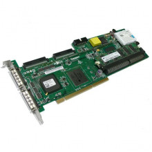 13N2197 Контроллер RAID SCSI IBM Lenovo ServeRAID 6M [Adaptec] ASR-3225S/128Mb AIC-7902W 128(512)Mb BBU Int