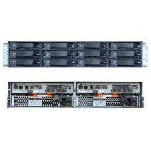 "1746A2S Дисковая полка IBM Lenovo System Storage DS3512 Single Controller (up to 12x3.5"" HDDs)"