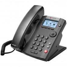 2200-40450-019 IP телефон Polycom VVX 201, Skype for Business Edition