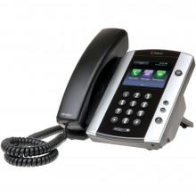 2200-44500-001 IP телефон Polycom VVX 500 с адаптером переменного тока