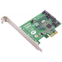 2255900-R Контроллер Adaptec 1220SA RAID 0/1 2 Channel SATA II PCIe Single without Cables