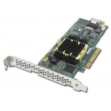 2258200-R Контроллер Adaptec 5405 RAID 4 Channel SATA/SAS Single 256MB PCIe LP 4INT CH without Cable