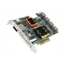 2258600-R Контроллер Adaptec 51645 RAID 16x4CH SATA/SAS Single 512MB PCIe 16Int/4Ext CH without Cable