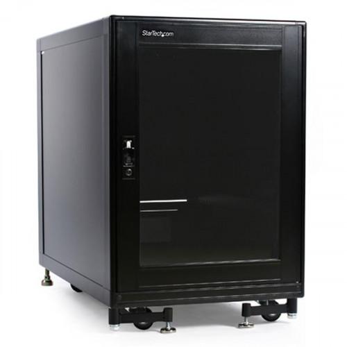 2636CABINET Серверный шкаф Startech 15U Rack Enclosure Server Cabinet - 27.6 in. Deep - Built-in Fans