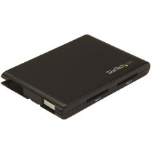 2SD4FCRU3 Кард-ридер StarTech Dual-Slot SD Card Reader/Writer - USB 3.0 - SD 4.0, UHS II