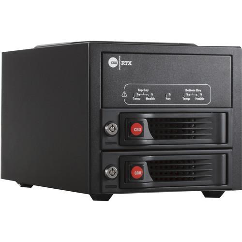 35220-3130-0000 Дисковое хранилище CRU-DataPort RTX220-3QJ 2-Bay Hard Drive Enclosure (USB 3.1 Gen 1 / eSATA / FireWire 800)