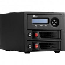 35220-3130-0100 Дисковое хранилище CRU-DataPort RTX220-3QR 2-Bay RAID Enclosure (USB 3.1 Gen 1 / eSATA / FireWire 800)