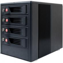 35410-1730-0000 Дисковое хранилище CRU-DataPort RTX410-XJ 4-Bay SAS/SATA JBOD Drive Enclosure with TrayFree Bays