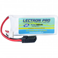 3S1800-50-L Опция для дронов COMMON SENSE RC Lectron Pro 11.1V 1800mAh 50C with Traxxas Connector for Traxxas 1/16-Scale E-Revo and Slash