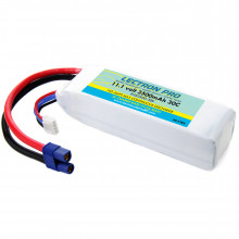 3S3500-30E Аккумулятор для дронов COMMON SENSE RC Lectron Pro 11.1V 3500mAh 30C with EC3 Connector for Blade 350 QX, QX2, , QX3 and Parkzone Planes