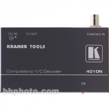 401DN Преобразователь CV в s-Video Kramer 401DN Analog Video Signal Converter - Composite (BNC) to Y/C (S-Video)