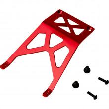 4024R Опция для дронов VENOM GROUP Traxxas 1:10 Stampede + Other TRX Models Alloy Front Skid Plate (Red)
