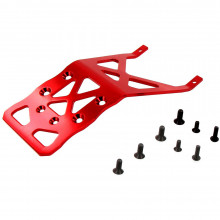 4025R Опция для дронов VENOM GROUP Traxxas 1:10 Stampede + Other TRX Models Alloy Rear Skid Plate (Red)