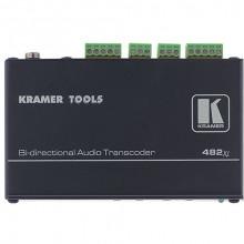 482XL Преобразователь балансного и небалансного стерео аудио Kramer 482XL Balanced/Unbalanced Stereo Audio Transcoder