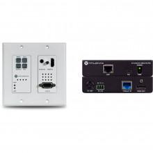 4K-HDVS-WP-EXT Видео удлинитель/репитер ATLONA 4K HDMI/VGA over HDBaseT 2x1 Switch Wall Plate Extender Kit (328')