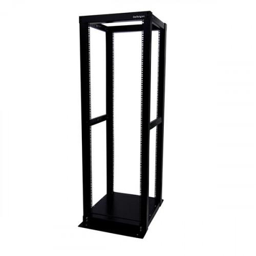 4POSTRACK36 Оборудование для стойки Startech.com 36U Adjustable 4 Post Server Equipment Open Frame Rack Cabinet