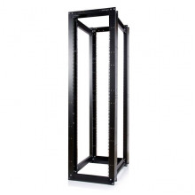 4POSTRACKHD Серверный шкаф Startech 45U 3300lb High Capacity 4 Post Open Server Equipment Rack - Flat Pack