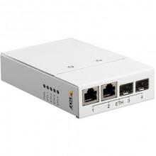5027-041 Медиаконвертер AXIS T8604, 4-Port Converter Switch 2x RJ-45, 2x SFP Slots