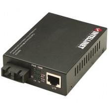 506502 Медиаконвертер Intellinet 10/100 Media Coverter SC Multimode