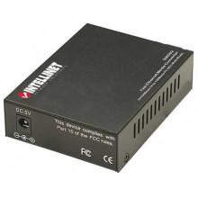 506519 Медиаконвертер Intellinet 10/100 Media Converter ST Multimode