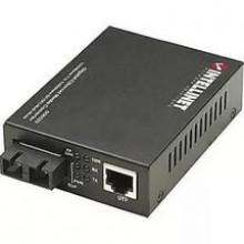 506533 Медиаконвертер Intellinet Gigabit Media Converter SC Multimode