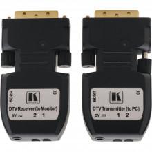 602R/T Передатчик и приемник DVI по оптоволоконному кабелю с отсоединяемым кабелем (комплект) Kramer 602R/T