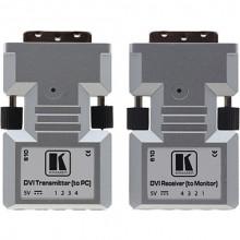 610R/T Передатчик и приемник сигнала DVI по волоконно-оптическому кабелю Kramer 610R/T Detachable DVI Optical Transmitter , Receiver Pair