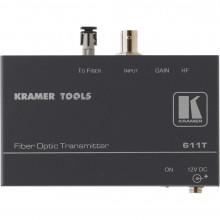 611T Передатчик CV по волоконно-оптическому каналу; работает с 611R Kramer 611T Composite Video Fiber Optical Transmitter