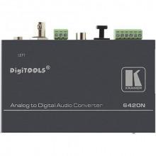 6420N Преобразователь балансного стерео аудио в S/PDIF, TosLink, AES Kramer 6420N Balanced Stereo-Audio to Digital-Audio Format Converter