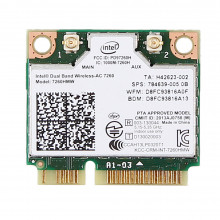 7260HMW Двухдиапазонный беспроводной адаптер Intel Wireless-AC 7260 + Bluetooth