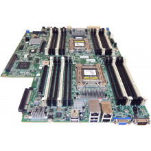 743807-001 Материнская плата для сервера HP PROLIANT DL160 Gen8 CR2 Enhanced System Board 740979-001