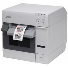 Принтер чеков Epson TM-C3400 Ethernet Incl. PC (White) (C31CA26032)