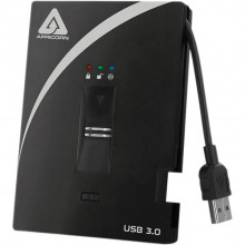 A25-3BIO256-2000 Защищенный внешний жесткий диск Apricorn 2TB Aegis Biometric USB 3.0 (256-Bit AES-XTS)