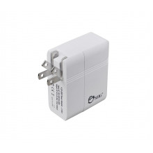 AC-PW0K12-S1 Зарядная станция SIIG 4.2A USB Power Adapter - 2-Port (White)