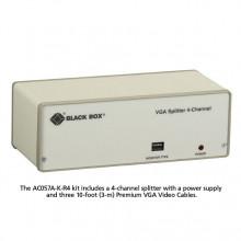 AC057A-K-R4 Сплиттер Black Box VGA 4-Channel Video Splitter
