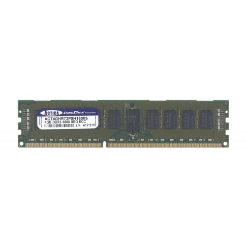 ACT4GHR72P8H1600S Оперативная память ACTICA 4GB DDR3 LRDIMM 1600MHz CL11