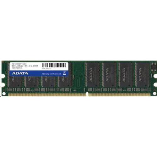 Оперативная память ADATA DDR 1GB 400MHz CL3 (AD1U400A1G3-B)