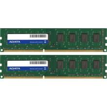 AD3U1333C2G9-2 Оперативная память ADATA 4GB (2x 2GB) DDR3-1333MHz CL9