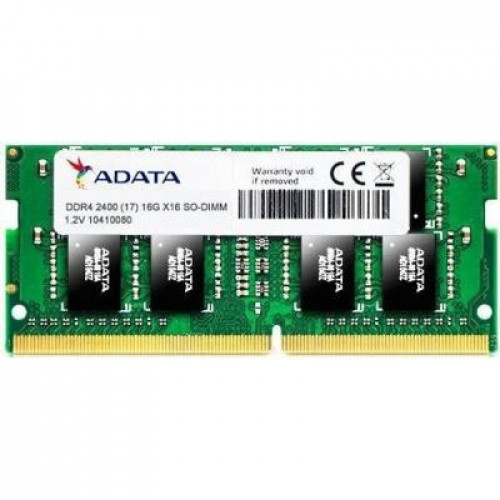 Оперативная память A-DATA DDR4 SO-DIMM 4GB 2400MHz CL17 (AD4S2400J4G17-S)