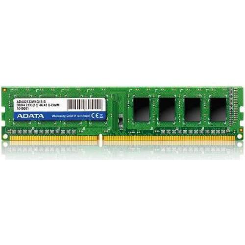 Оперативная память ADATA DDR4 4GB 2133MHz, 15CL (AD4U2133W4G15-R)