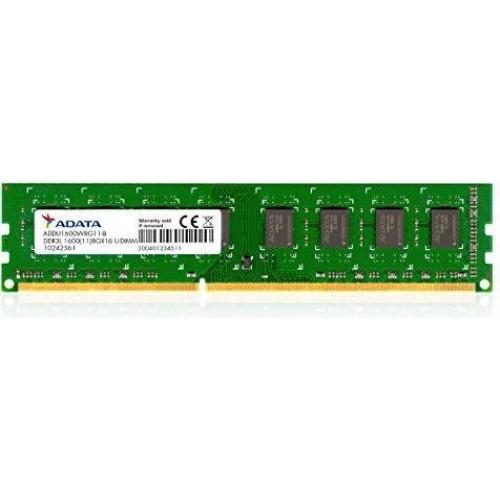 Оперативная память ADATA Premier DDR3L, 8GB, 1600MHz, CL9 (ADDU1600W8G11-R)