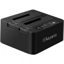 AHDDUB300F Внешний карман для HDD Aluratek USB 3.1 Gen 1 Superspeed Dual Bay External SATA Hard Drive Duplicator