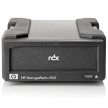 AJ766A Система резервного копирования HP RDX160 External Removable System w/ 1 x 160GB RDX Cartridge