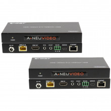 ANI-HDR100 передатчик и приемник видеосигнала A-NEUVIDEO 4K HDMI HDR Transmitter/Receiver over Category Cable (328')
